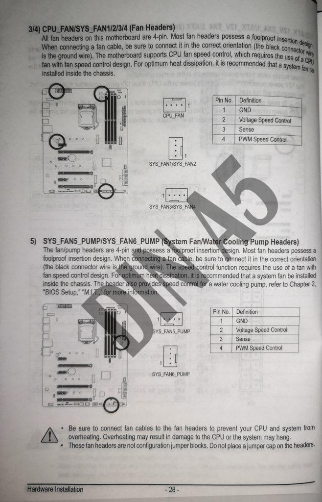 Handbuch Gigabyte Z390 AORUS Master