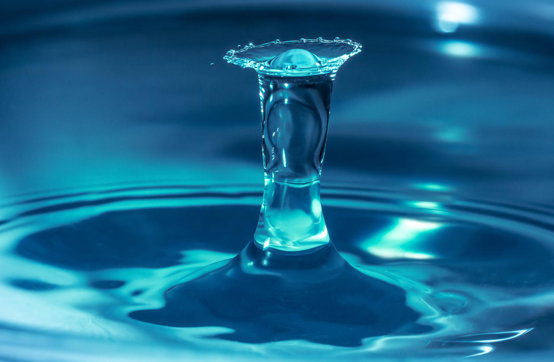 Faszination Wasser Tropfen