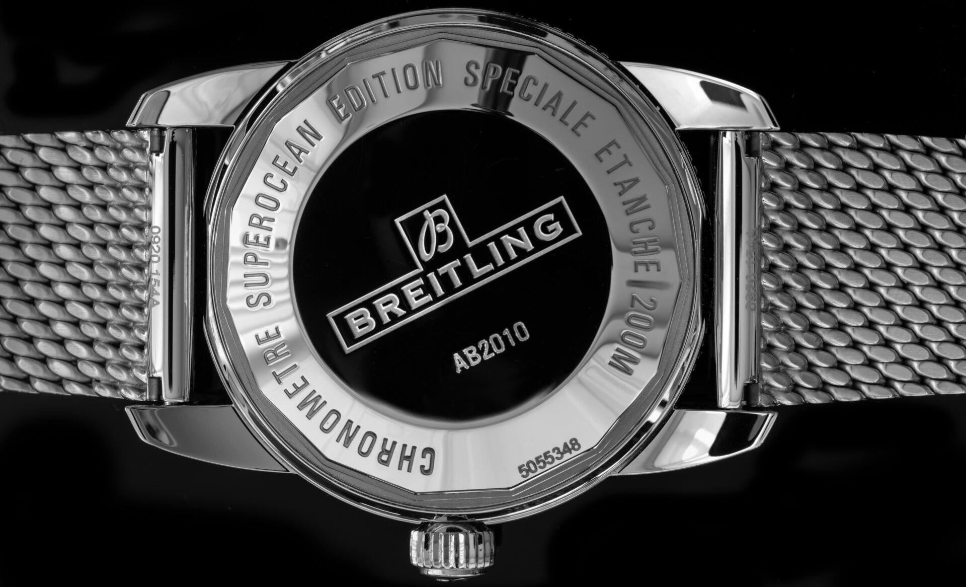 Unterseite Breitling